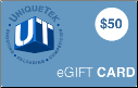 UniqueTek $50 Gift Card (SKU: GC-50)